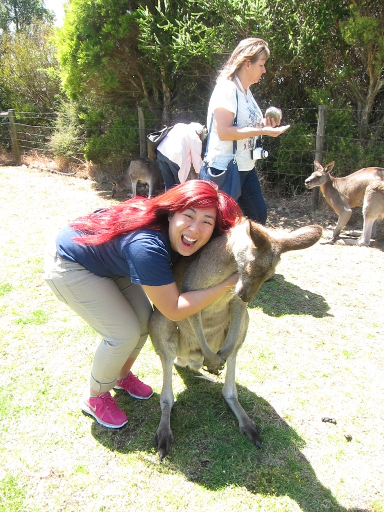 Me: I love you! You are my best friend, and we have an everlasting bond that will never be broken! This is true friendship! Kangaroo: Please let go of me.