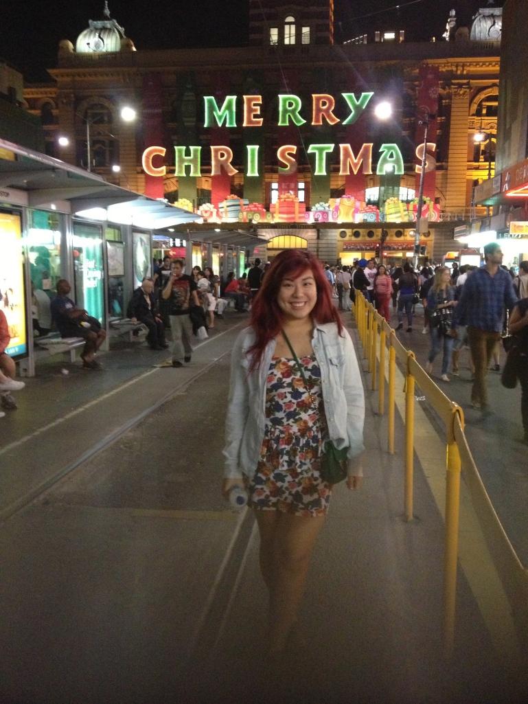 Flinders Street Station!