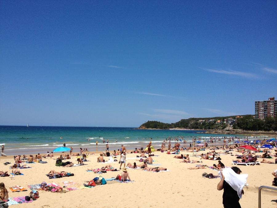 Manly Beach!
